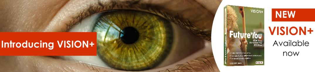 banner V+ eye